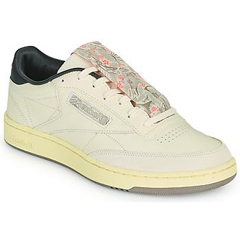Schuhe Herren Sneaker Low Reebok Classic CLUB C 85 Beige