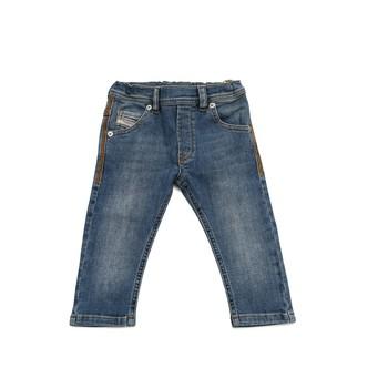 Vêtements Garçon Jeans slim Diesel KROOLEY