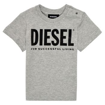 Vêtements Enfant T-shirts manches courtes Diesel TJUSTLOGOB