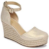 Schuhe Damen Sandalen / Sandaletten MICHAEL Michael Kors KENDRICK WEDGE Golden