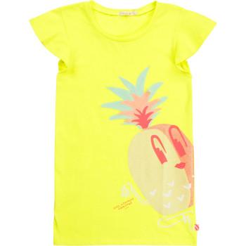 Kleidung Mädchen Kurze Kleider Billieblush / Billybandit U12625-599 Gelb