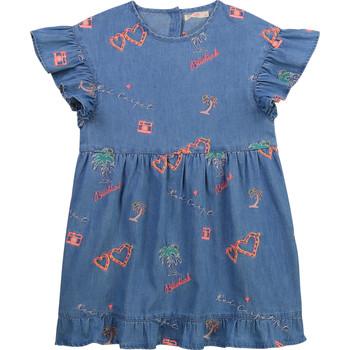 Kleidung Mädchen Kurze Kleider Billieblush / Billybandit U12640-Z10 Blau