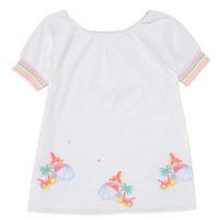 Kleidung Mädchen Kurze Kleider Billieblush / Billybandit U12657-10B Weiß