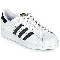 Schuhe Sneaker Low adidas Originals SUPERSTAR Weiß