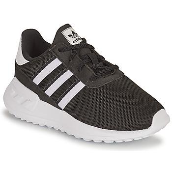 Schuhe Kinder Sneaker Low adidas Originals LA TRAINER LITE EL I Weiß