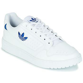 Schuhe Sneaker Low adidas Originals NY 92 Weiß / Blau