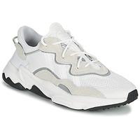 Schuhe Sneaker Low adidas Originals OZWEEGO Weiß / Beige