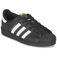 Scarpe Unisex bambino Sneakers basse adidas Originals SUPERSTAR C