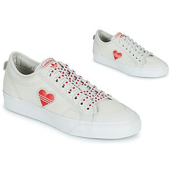 Chaussures Femme Baskets basses adidas Originals NIZZA  TREFOIL W