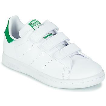Scarpe Unisex bambino Sneakers basse adidas Originals STAN SMITH CF C SUSTAINABLE