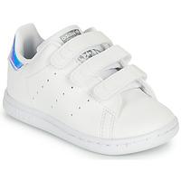 Scarpe Bambina Sneakers basse adidas Originals STAN SMITH CF I SUSTAINABLE