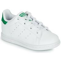 Scarpe Unisex bambino Sneakers basse adidas Originals STAN SMITH EL I SUSTAINABLE