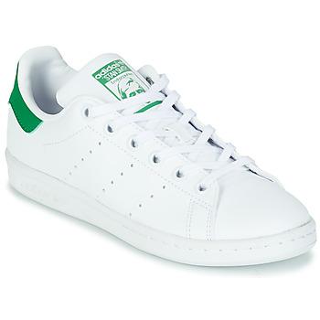 Scarpe Unisex bambino Sneakers basse adidas Originals STAN SMITH J SUSTAINABLE