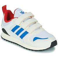 Schuhe Kinder Sneaker Low adidas Originals ZX 700 HD CF C Beige / Blau