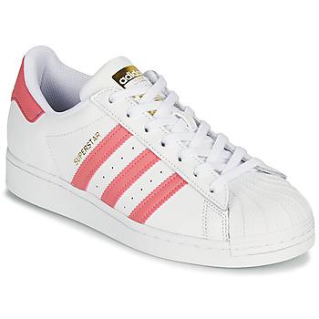 Schuhe Damen Sneaker Low adidas Originals SUPERSTAR W Weiß