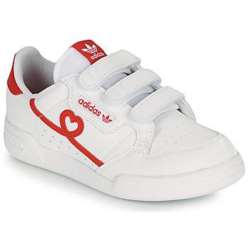 Chaussures Fille Baskets basses adidas Originals CONTINENTAL 80 CF C