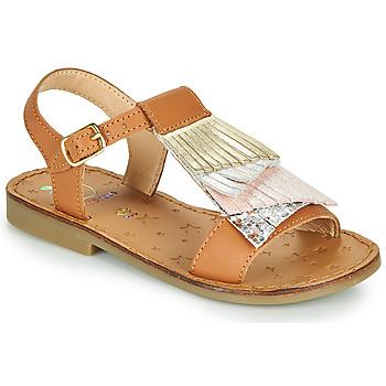 Schuhe Mädchen Sandalen / Sandaletten Shoo Pom HAPPY FALLS Braun,