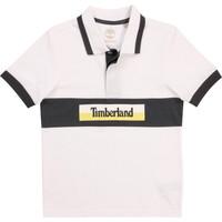 Abbigliamento Bambino Polo maniche corte Timberland DOTTO