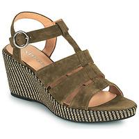 Chaussures Femme Sandales et Nu-pieds Adige FLORY V5 VELOURS MILITAIRE
