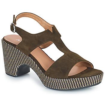 Chaussures Femme Sandales et Nu-pieds Adige ROMA V5 VELOURS MILITAR