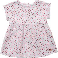 Kleidung Mädchen Kurze Kleider Carrément Beau Y92119-10B Weiß