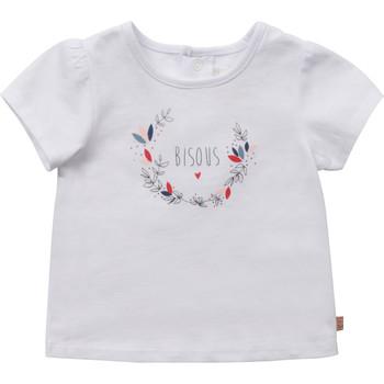 Kleidung Mädchen T-Shirts Carrément Beau Y95270-10B Weiß