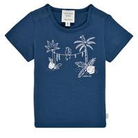 Kleidung Jungen T-Shirts Carrément Beau Y95274-827 Marineblau