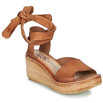 Schuhe Damen Sandalen / Sandaletten Airstep / A.S.98 NOA LACE Kamel