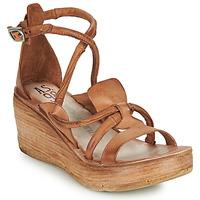 Schuhe Damen Sandalen / Sandaletten Airstep / A.S.98 NOA STRAP Kamel