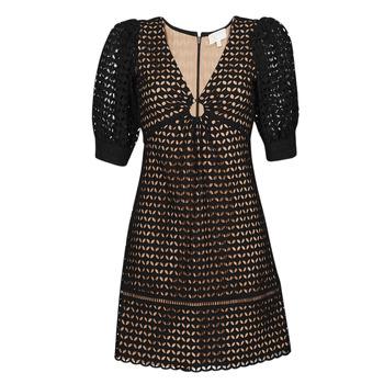 Vêtements Femme Robes courtes MICHAEL Michael Kors GEO EYELET MINI DRESS