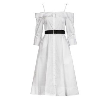 Vêtements Femme Robes longues Karl Lagerfeld COLDSHOULDERSHIRTDRESS