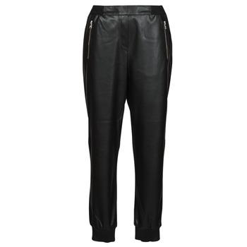Vêtements Femme Pantalons 5 poches Karl Lagerfeld FAUXLEATHERJOGGERS