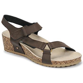 Schuhe Damen Sandalen / Sandaletten Spot on F10716 Braun,