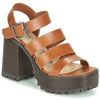 Schuhe Damen Sandalen / Sandaletten Emmshu DITA Kognac