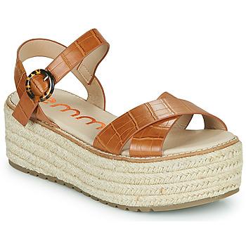 Schuhe Damen Sandalen / Sandaletten Emmshu NESA Kognac