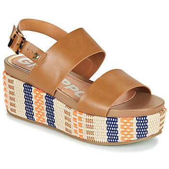 Schuhe Damen Sandalen / Sandaletten Gioseppo COWLEY Kognac