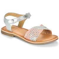 Schuhe Mädchen Sandalen / Sandaletten Gioseppo QUINCY Silbrig