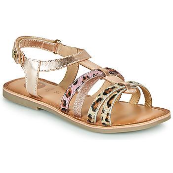Schuhe Mädchen Sandalen / Sandaletten Gioseppo PALMYRA Gold