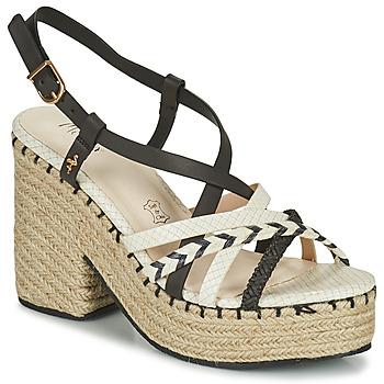 Schuhe Damen Sandalen / Sandaletten Menbur BALMUCCIA Weiß