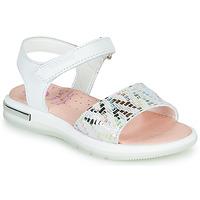 Schuhe Mädchen Sandalen / Sandaletten Pablosky CAMMI Weiß