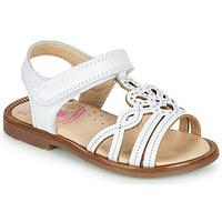 Schuhe Mädchen Sandalen / Sandaletten Pablosky MARIE Weiß