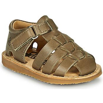 Schuhe Jungen Sandalen / Sandaletten Citrouille et Compagnie MISTIGRI Khaki
