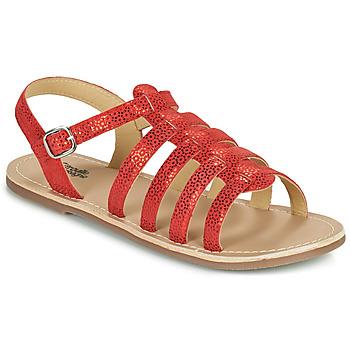 Schuhe Mädchen Sandalen / Sandaletten Citrouille et Compagnie MAYANA Rot