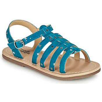 Schuhe Mädchen Sandalen / Sandaletten Citrouille et Compagnie MAYANA Blau
