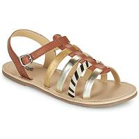 Schuhe Mädchen Sandalen / Sandaletten Citrouille et Compagnie MAYANA Braun,