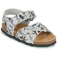 Schuhe Jungen Sandalen / Sandaletten Citrouille et Compagnie OMAYO Grau