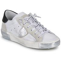 Schuhe Damen Sneaker Low Philippe Model PARIS Weiß