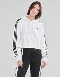 Abbigliamento Donna Felpe adidas Originals SHORT HOODIE