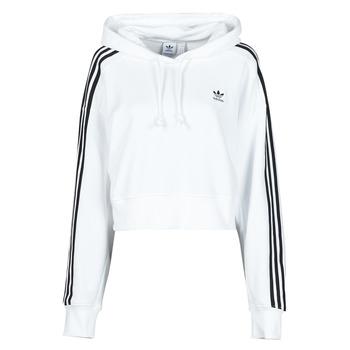 Kleidung Damen Sweatshirts adidas Originals SHORT HOODIE