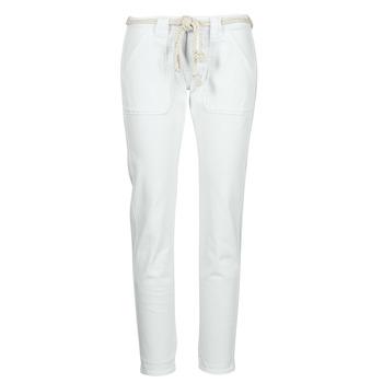 Kleidung Damen 5-Pocket-Hosen Le Temps des Cerises EZRA Weiß
